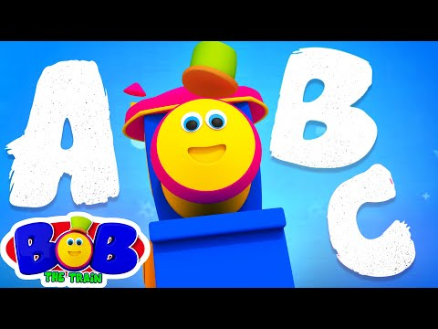 Learn Alphabet With Bob The Train | ABC, Numbers, Colors, Shapes | Learning Video | Nursery Rhymes