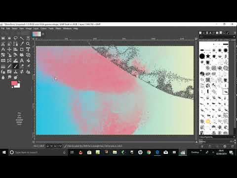 remove brushes from Gimp thumbnail