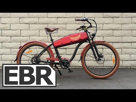 Ariel Rider N-Series Video Review - Chopper Style Electric Bike