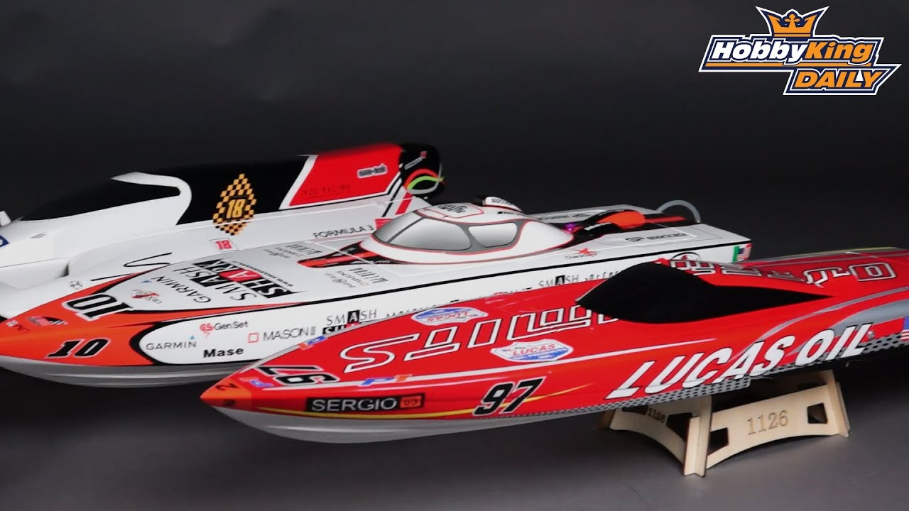 OuterLimits Fiberglass Offshore Brushless Racing Boat w