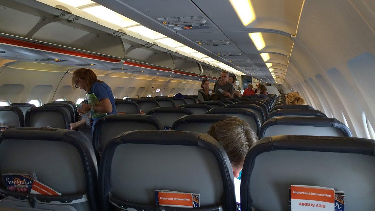 San Diego To Bellingham On An Allegiant Air A319
