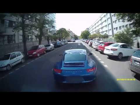 HZS PRAHA: Řidič Porsche v Praze ohrožoval svou jízdou hasičskou cisternu vracející se od zásahu