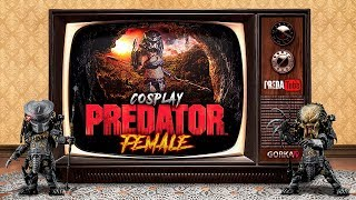 Cosplay Predator Female - Proceso montaje digital