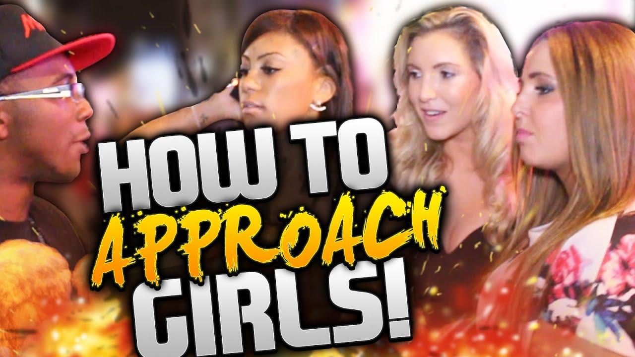 best way to approach a girl in public