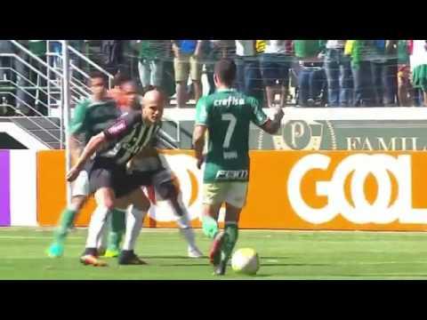 Palmeiras 0 x 1 Atlético MG Melhores Momentos   Brasileirão 2016