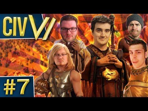 Civ VI: Small World #7 - Stream Snipes and Double Wars