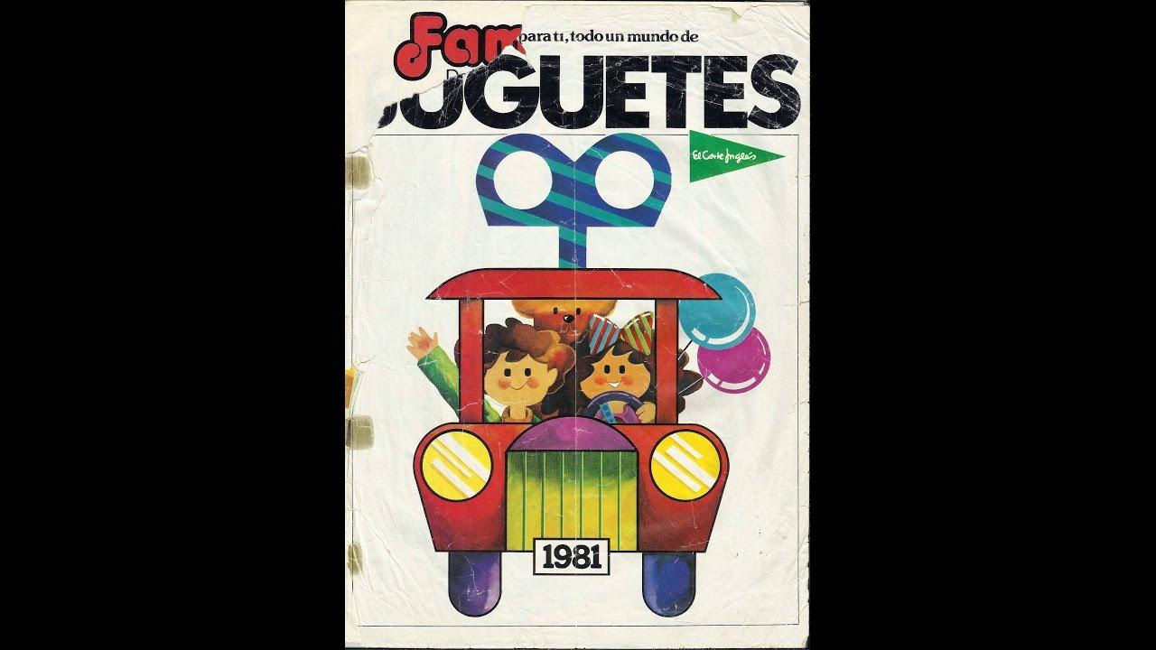 Corte ingles catalogo 1981 juguetes youtube - Catalogo del corteingles ...