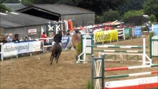 Hugh Davies and Western Woman HOYS qualifier  2013