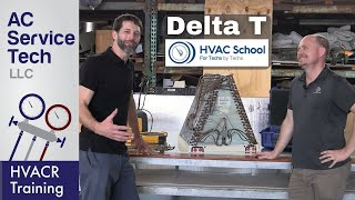 HVAC Delta-T, Is it a Fixed or Moving Number? Collab with HVAC School!