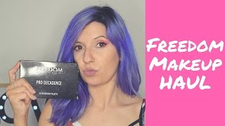 Video HAUL MAQUILLAJE: FREEDOM MAKEUP, ESSENCE download MP3, 3GP, MP4, WEBM, AVI, FLV Juli 2018