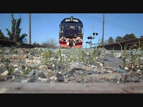 Thumbnail: Eastern Shore Railroad Train Runs Over My Camera On Bad Track