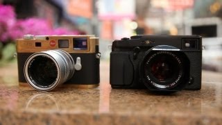 Fujifilm X-Pro1 vs Leica M9 (M8) - On The Streets thumbnail