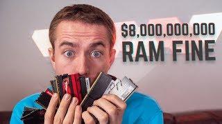 RAM Companies Facing MASSIVE Fine & AMD New GPU Update