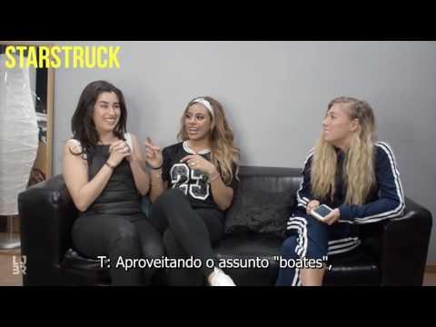 Lauren and Dinah TOPP Magazine Norway  legendado PT-BR
