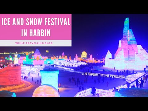 Ice and Snow Festival in Harbin, China