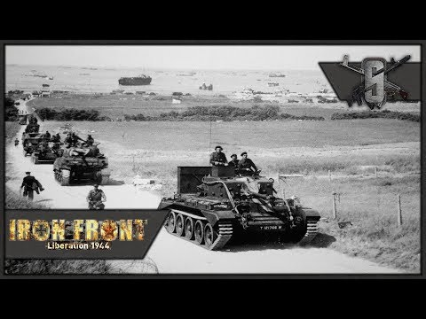 Allied Tank Commander, 7 Tank Column - ArmA 3 IFA WW2 Mod - WW2 Tank Gameplay 1440p60