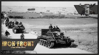 Allied Tank Commander, 7 Tank Column - ArmA 3 IFA WW2 Mod - WW2 Tank Gameplay 1440p60