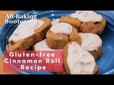 How To Make Gluten-Free and Vegan Cinnamon Rolls | Alt-Baking Bootcamp | Well+Good