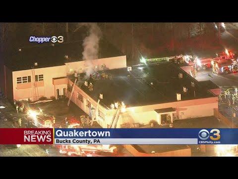 Officials: 2-Alarm Fire At Quakertown Christian School
