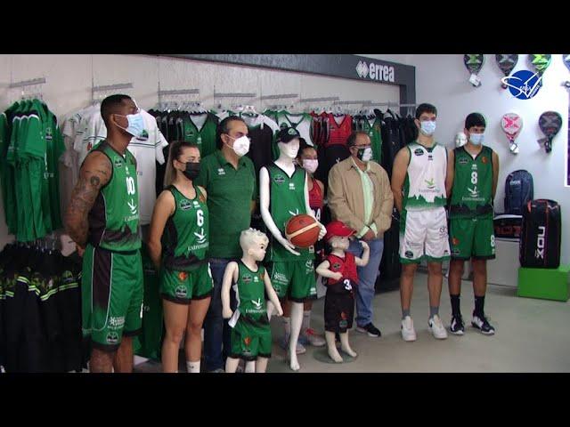 Cáceres Basket (LEB Oro 21/22): Presentación de Erreà