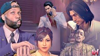 Yakuza 1 Kiwami Walkthrough Gameplay Part 1 - Chapter 1 🔥 (Yakuza Remake)