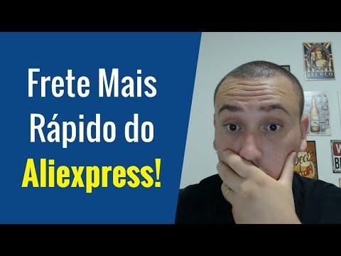 Qual o FRETE MAIS RÁPIDO e RASTREÁVEL Do Aliexpress | Chega Entre 20 a 30 Dias!