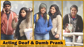 Gunga Aur Behra Prank Firse | Deaf & Dumb | Pra...