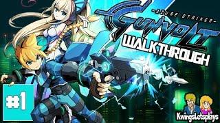 Azure Striker Gunvolt Walkthrough Part 1 Mission Anthem