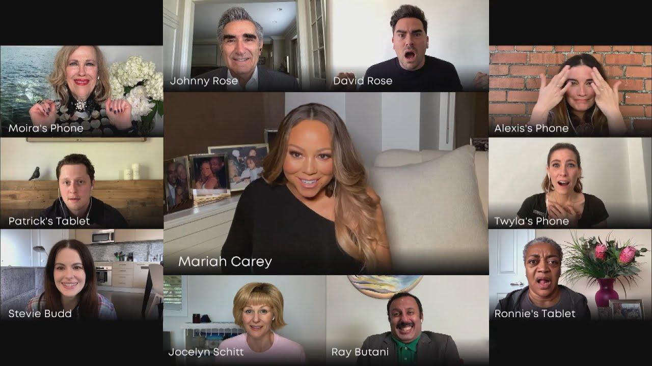 Mariah Carey CRASHES Schitt's Creek Cast Reunion