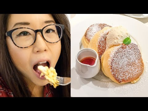 FLUFFY PANCAKES In Tokyo ♦ Japanese Style Breakfast