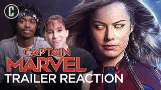 Captain Marvel Trailer Reaction & Review