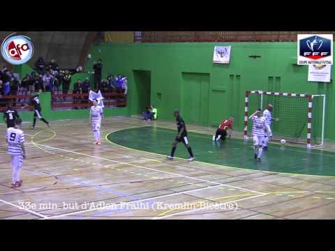 Coupe Nationale Futsal 2013 - 2014 : Kremlin-Bicètre United - Sporting Strasbourg Futsal