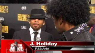 2008 American Music Awards, J.Holiday, Three 6 Mafia, Rza, Jazze Pha, Colby Odonis
