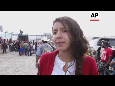 Protesters urge justice for slain Honduran activist