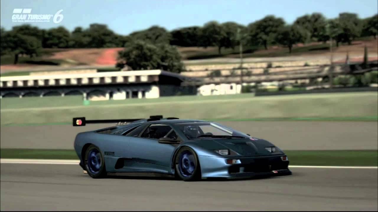 Gran Turismo 6 Lamborghini Diablo Gt2 98 Ascari Circuit
