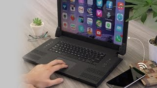 Hybrid laptop powered by your smartphone