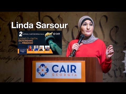 Linda Sarsour at the 2nd Annual CAIR Georgia Gala