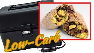 Cooking Low-Carb Breakfast burritos in the RoadPro
