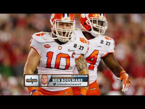 Clemson  LB Ben Boulware's NFL aspirations and why he wears #10