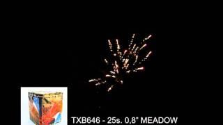 Fajerwerki TXB646 Meadow 25s 0.8