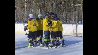 «Ворони» та «Ромни» зіграли матч п'ятого туру чемпіонату області з хокею