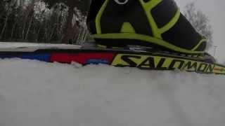 видео Salomon купить беговые лыжи