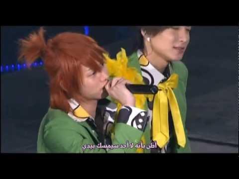 Super Junior T - Don't Go Away {Arabic Sub}_Live ver