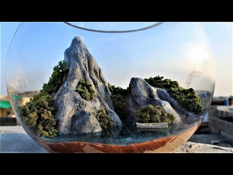 How to make a Terrarium | Aquascaping | diorama