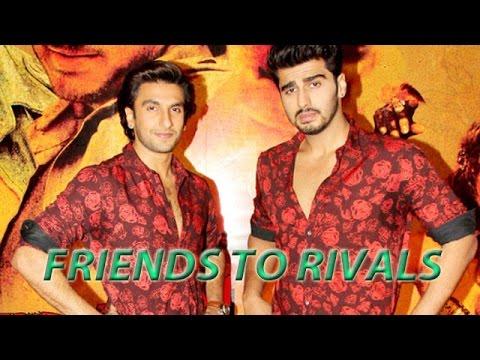 Ranveer Singh & Arjun Kapoor From Friends To Rivals | Bollywood Gossip