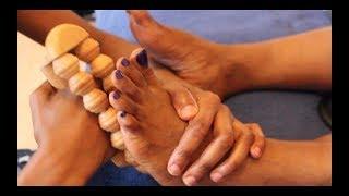 ASMR Pain Relief Foot Massage