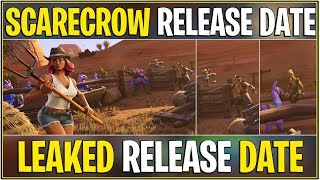 *NEW* Fortnite: LEAKED SCARECROW SKINS OFFICIAL RELEASE DATE! *Secret Skin Set*