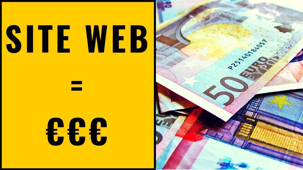 creer un site en ligne pour gagner de largent