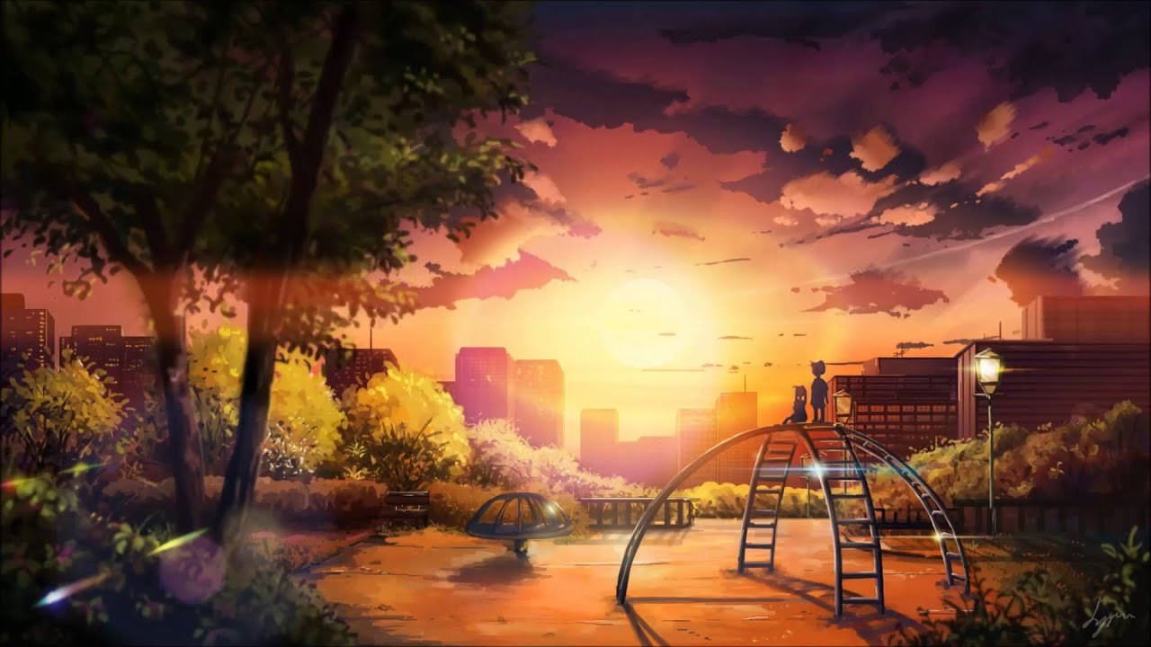 My neighbor totoro path of the wind kasora chillhop - Anime scenery wallpaper laptop ...