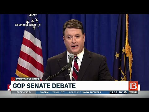 IN GOP Senate debate